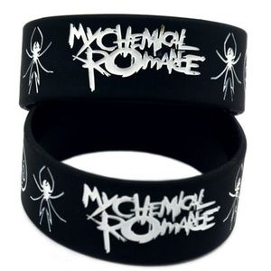 Jewelry - MY CHEMICAL ROMANCE BRACELETS BAND WRISTBANDS (x2)
